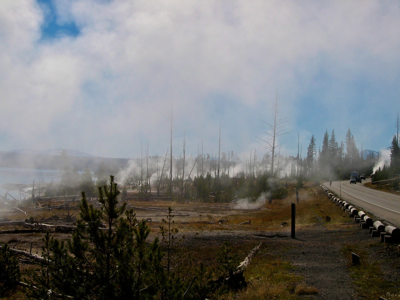 Yellowstone experiences thousands of small earthquakes every year, virtually all of which are undetectable to people. There have been six earthquakes with at least magnitude 6 or greater in historical times, including a 7.5 magnitude quake that struck just outside the northwest boundary of the park in 1959.