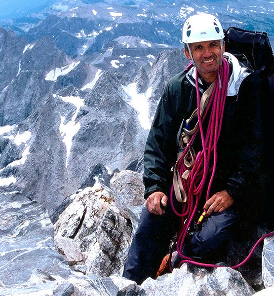 """On the top of Grand Tetons, 13,770ft.<br /> <br /> Zijah Kurtovic is an experienced climber and hiker. <br /> He got his first hiking experience with PD """"Budozelj""""… <br /> <br /> Zijo climbed the following peaks:<br /> Kilimanjaro19,340 ft – 5,895 m<br /> Mount Blanc15,774 ft – 4,808 m<br /> Mount Whitney14,497 ft – 4,419 m<br /> Mount Rainier14,410 ft – 4,392 m<br /> Grand Tetons 13,770 ft – 4,197 m   ….<br /> <br /> He lives in Illinois where he owns a small business."""