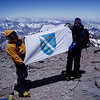 Fikret and me – Bosnians at the top of Aconcagua.