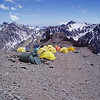 At the Canada – Camp 1.<br /> <br /> On Friday December 23 we started our ascent to the Aconcagua summit. Camp 1 was Canada Camp (4,910m / 16,100ft).