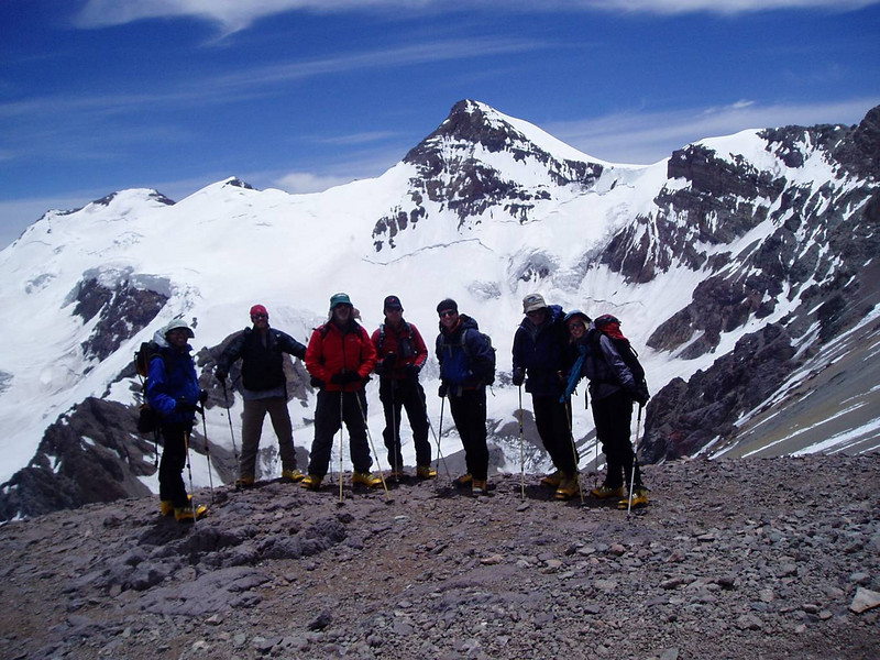 At the Canada – Camp 1 – acclimatization day hike.
