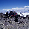 The next day we moved to Camp Cholera (5,950m / 19,520ft) – Camp 3, our last altitude camp