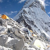 Ama Dablam (22,493ft/6.856m) south-west ridge from C1 (17,717ft/5.400m)