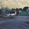 Tenzing Hillary airport  at Lukla (2.840 m).<br /> 35 minutes from Kathmandu.