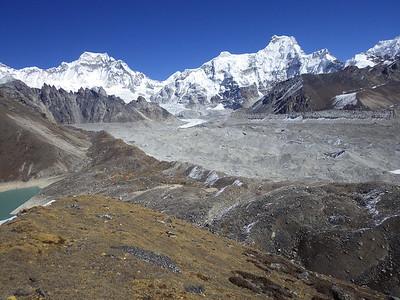 North from BC Mahalangur Himalaya range is visible.