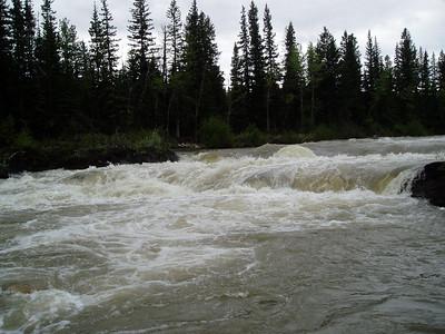 First adventure was class III rafting on Kananaskis River near by Calgary, AL.