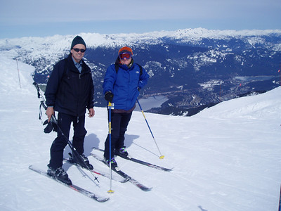 Whistler Ski Area: Elevation gain: 5,280ft = 1.609m