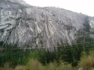 Stawamus Chief (2,100ft = 640m) Rock