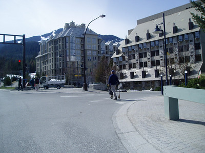 Whistler Ski Resort (2,214ft = 675m) Future host of 2010. Winter Olympic Games