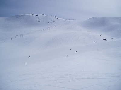 Whistler Ski Area - Average snow fall 402 inches/33.5 feet  10.22 meters per year