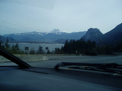 Squamish - on the way to Whistler