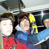 Cable car towards Grouse Mtn. and night skiing