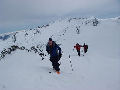 Towards Blackcomb Mountain