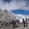 Hike to ABC – Peak 6.666m behind