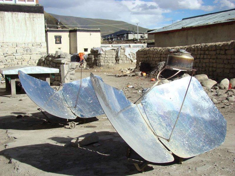 Tibetan boiler (heat water)