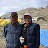 With Ang Jangbu, Great Escapes Trekking director at BC (16,001ft/4.877m)