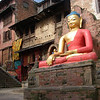 Near to Stupa at Swayanabath, also known as Monkey Temple – Kathmandu, Nepal