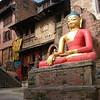Near to Stupa at Swayanabath, also known as Monkey Temple – Kathmandu, Nepal