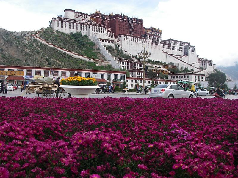 Potala Palace – Lhasa, Tibet (11,975ft/3.650m)