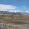View from Tingri, Tibet (12,586ft/4.380m) on our way back:<br /> Everest (29,035ft/8.850m), left and Cho Oyu (26,906ft/8.201m), right
