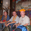 Naim Logic, Zijah Kurtovic and Fikret Karacic.<br /> Gathering at Hotel Tibet, Lazimpat – Kathmandu, Nepal