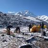 Intermediate Camp (IC) (17,618ft/5.370m) – Cho Oyu (26,906ft/8.201m) behind