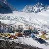 ABC (18,456ft/5.625m) – Nongpa La (18,835ft/5.741m) pass to Nepal behind