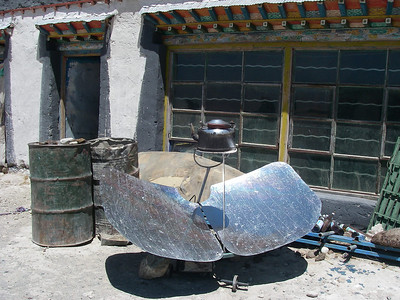 Tibetan specialty - water heater. Tingri (4.320m = 14,173ft)