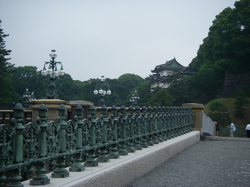 On my way home I spent almost whole day in Tokyo, Japan.<br /> Imperial Palace