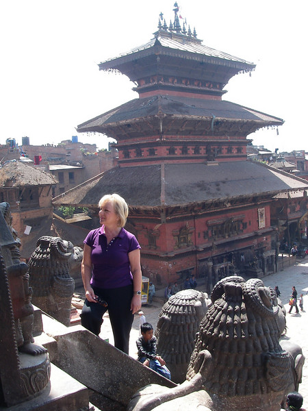 Kathmandu (1.430m = 4,692ft) - Durbar Square 2