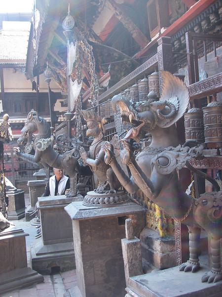 Rudrabarna Mahavihar monastery - Kathmandu (1.430m = 4,692ft) 2