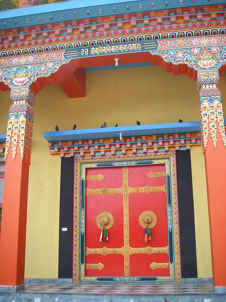 Kathmandu (1.430m = 4,692ft)  - Religious school