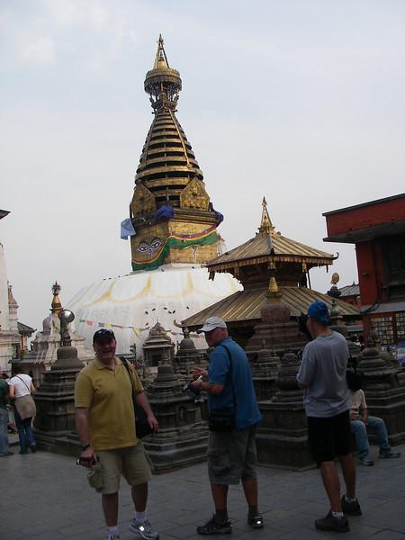 Monkey Temple (Swayambhunath stupa) - Kathmandu turist atraction 1