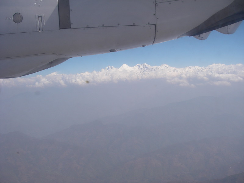 Flight to Pokhara