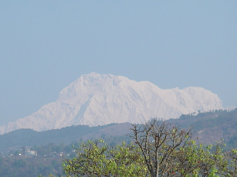 Annapurna Region from Pokhara 1