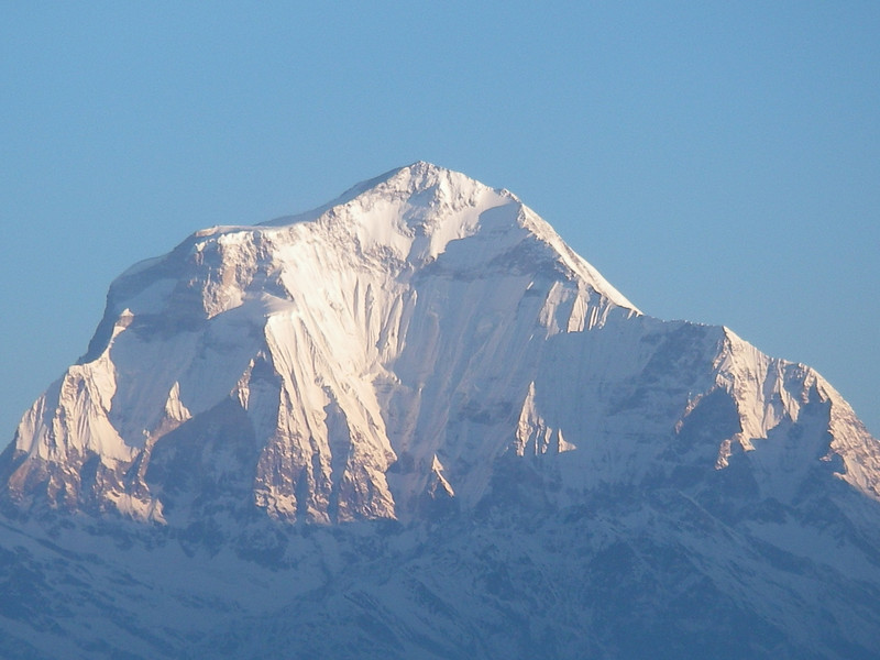 Dhaulagiri (8.167m = 26,795ft) from Poon Hill 3