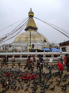 Budhanath stupa - another Kathmandu turist atraction.