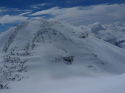Elbrus - East Peak (5.621m).
