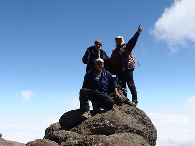 Lava Tower - 4750 m