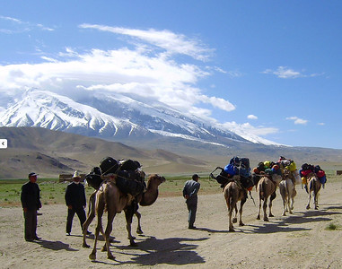 This nomadic tradition continues to function seasonally as herding families return to the high mountain pasture in the summer.