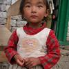 Sherpa little girl - Pangboche, Nepal (12,894ft/3.930m).
