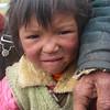 Tibetan kid. Lhakpa La  - Tibet (16,929ft/5.160m).