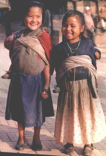 Nepalese kids 2