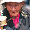 Tibetan woman. Lhasa  - Tibet (11,975ft/3.650m).