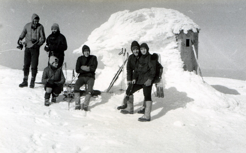 Treskavica - Paklijas - January 1977.