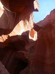 Antelope Canyon is the most-visited and most-photographed slot canyon in the American Southwest