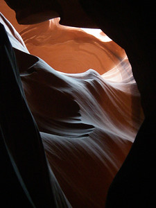 Upper Antelope Canyon is very beautiful to visit year round.