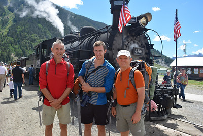 We took Silverton Narrow Gauge Railroad Scenic train to Needleton. The fare from Silverton is $71 round trip and about one hour each way with free parking in Silverton.