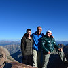 At Mount Eolus (14,083ft = 4.292m). We were there at about 8am.
