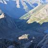 View from Sunlight Peak (14,059ft = 4.285m) towards Chicago Basin.
